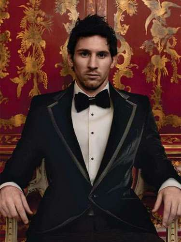 Messi's fashion sense got a boost recently when he inked a deal with iconic brand Dolce & Gabbana.