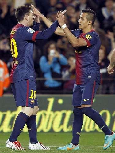 Barcelona sufrió más de la cuenta para derrotar 2-0 al Deportivo La Coruña, en Camp Nou.