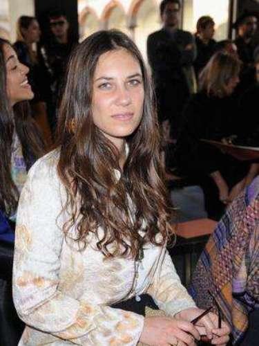Tatiana Santo Domingo, nieta del industrial colombiano Julio Mario Santo Domingo es la actual prometida del príncipe Andrea Casiraghi.