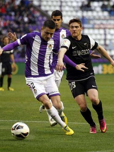 Valladolid y Málaga igualaron 1-1 en el José Zorrilla.