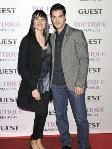 Irene Villa acudió acompañada junto a su marido Juan Pablo Lauro, con quien presumió de medalla de oro como campeona de Slalom.