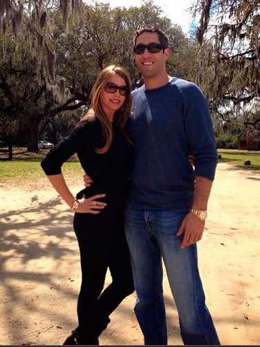 Sofia Vergara se despide de su fin de semana de descanso: Charleston! Be back soon!