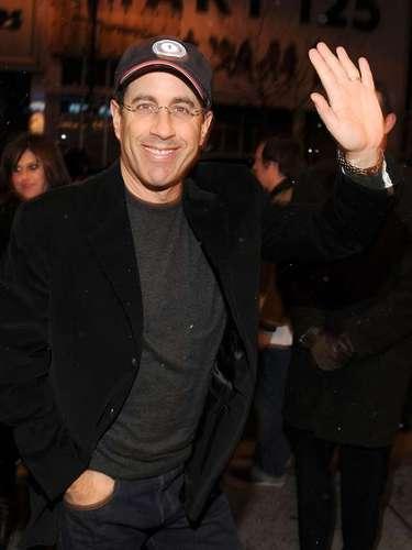 El actor y comediante Jerry Seinfeld es otro de los zurdos más exitosos de la televisión estadounidense.