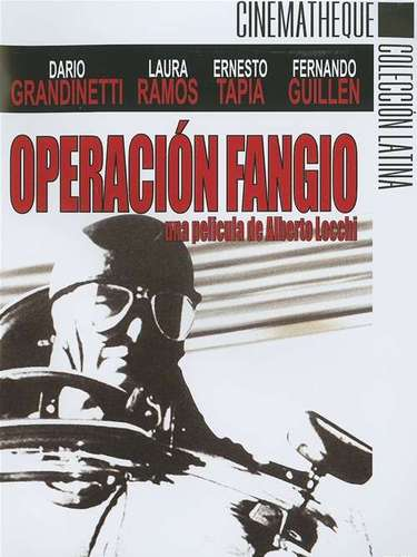 Operación Fangio (1999). El argentino Juan Manuel Fangio -quintúple campeón mundial de automovilismo- es secuestrado en Cuba en 1958, poco antes de participar en el Gran Premio de Fórmula 1 a disputarse en la isla caribeña. Sus captores son miembros del movimiento revolucionario 26 de julio, liderado por Fidel Castro.