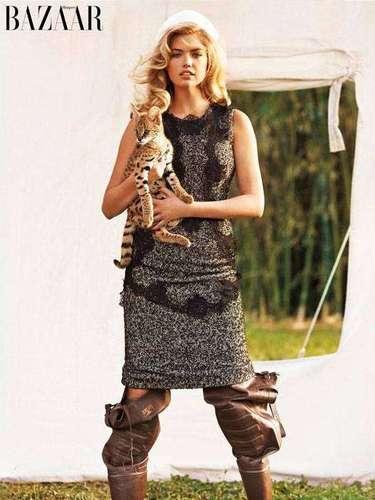 Kate Upton e Irina Shayk protagonizan una particular sesión de fotos para Harper's Bazaar. Se trata de \