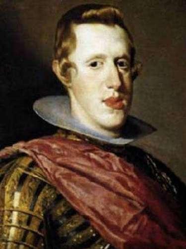 Nada más y nada menos al rey español Felipe IV quién reinó en España hasta las Filipinas.
