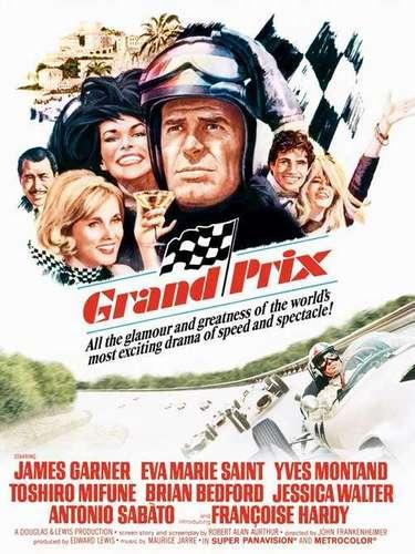 Grand Prix (1996). Es una película estadounidense de 1966 dedicada a las carreras de Fórmula 1. Dirigida por John Frankenheimer.
