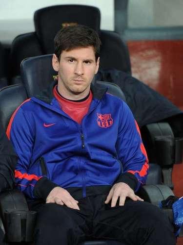 Al argentino se le vio bastante ansioso durante el partido de cuartos de final ante el PSG.
