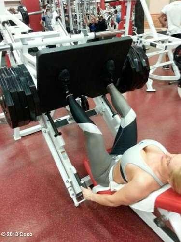Coco Austin sigue presumiendo de su estricta rutina de ejercicios. @cocosworld.