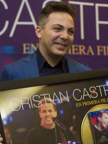 El próximo 8 de junio Castro presentará 'Primera Fila' en el Auditorio Nacional de Ciudad de México.