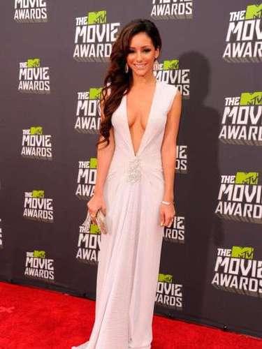 Los MTV Movie Awards no son necesariamente conocidos por su ropa recatada, pero Melanie Iglesias se tomó muy en serio esta afirmación.