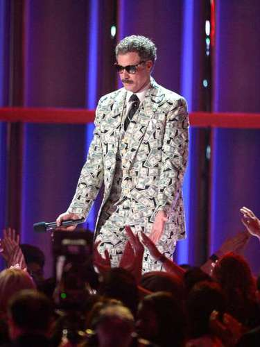 El premio Genio de la Comedia fue entregado este a Will Farrell en los MTV Movie Awards 2013