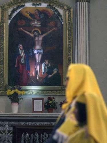 En la Parroquia Milagrosa Niño Jesús de Praga, ubicada en General Borgoño con Independencia, en la región Metropolitana se dio inicio a la tradicional fiesta de Cuasimodo