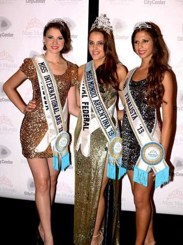 La porteña Teresa Kuster es nueva Miss Mundo Argentina 2013 y será la bella mujer que viajará en Septiembre a Bali a representar a nuestro país en Miss Mundo, el certamen de belleza y talento más importante a nivel internacional. Zaida Schoop de la provincia de Córdoba, fue elegida 1era finalista y Luciana Robles de Salta, 2da finalista. La modelo rubia de la Ciudad de Buenos Aires fue la ganadora entre las 24 jóvenes modelos representantes de todo el país se disputaron la corona de Miss Mundo Argentina 2013.