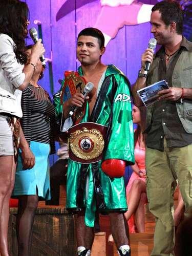Daniel Rosas Reyes, mejor conocido en el mundo del boxeo como el 'Bad Boy', también hará gala de sus destrezas físicas en la emisión que será transmitida por Azteca 7.
