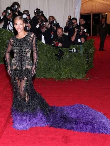 La alfombra roja siempre ha sido una incodicional de Beyoncé...