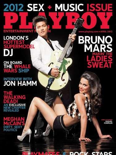 Su carrera en Playboy comenzó fuerte en abril de 2012 cuando protagonizó esta portada.