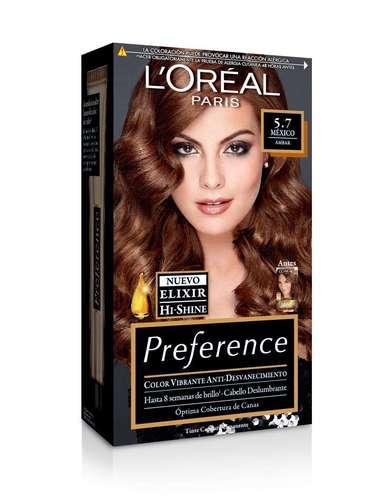 Esta temporada el cabello se volverá un lujo gracias al Elixir His Shine de Preference, un ingrediente que otorga al brillo, suavidad y hace que el tinte se adhiera mejor durante la coloración.