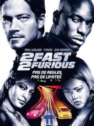 2 Fast 2 Furious o Más rápido, más furioso (2003) en Miami. Tras dejar escapar a Dom (Diesel), Brian (Paul Walker) huirá a Miami para comenzar una nueva vida. Sin embargo, el FBI lo contactará para unamisión especial a cambio de limpiar su expediente. Para ello, pedirá la ayuda de su viejo amigo Rome (Tyrese Gibson).