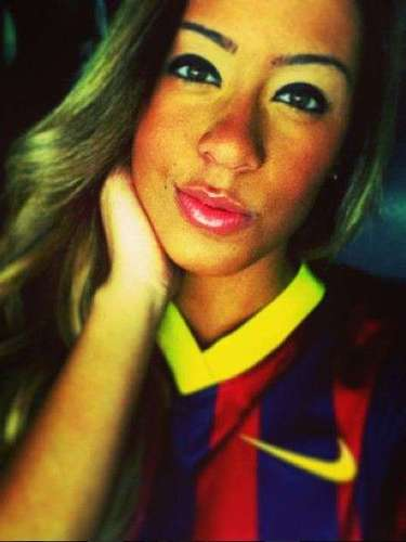 Barcelona has a new fan as Beckran declared her new love for her brother's new club
