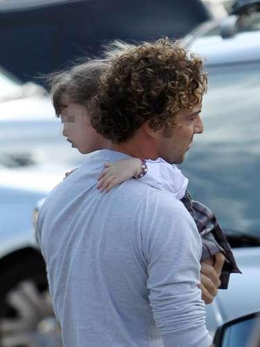 Aprovechando que se encuentra en Madrid para continuar con sus conciertos, el cantante ha disfrutado de toda la semana junto a la pequeña.