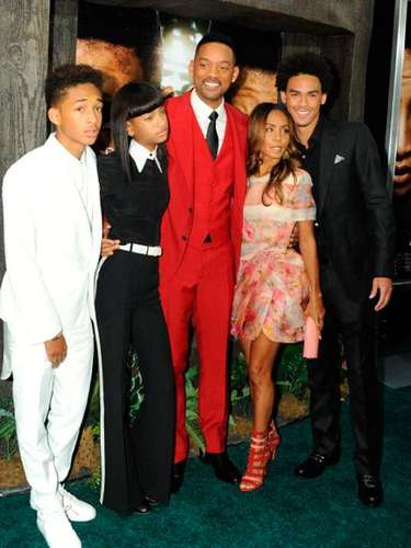 Una de las parejas más sólidas de Hollywood, Will Smith y Jada Pinkett y sus hijos Jaden, Willow y Trey