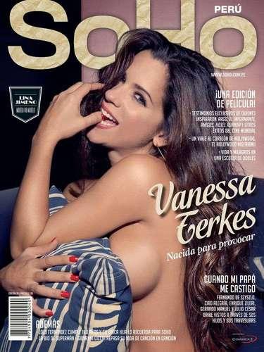 La actrizVanessa Terkesmostró toda su sensualidad en la nueva edición de la revistaSoHo Perú. Considerada una de las mujeres más sexies de nuestro país, se mostrará semidesnuda en la edición especial de la publicación por elDía del Padre.