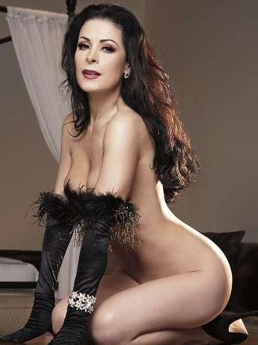 La actriz de telenovelas como 'Abismo de Pasión' y 'Por Ella Soy Eva' superó los miedos del paso del tiempo y se despojó de la ropa por segunda ocasión para la cámara de Playboy.