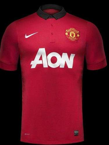 Manchester United went back to the traditional collared shirts of the past with their new Nike kits.