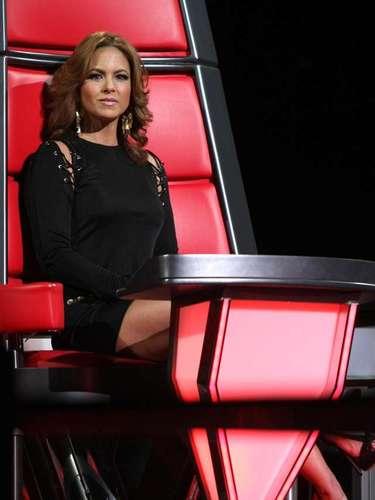 La cantante Lucero fue la única figura femenina que formó parte del selecto grupo de coaches de la primera edición de 'La Voz... México'.