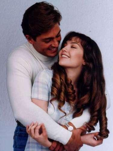 Otra pareja difícil de olvidar es la que conformaron Thalía y Fernando Colunga en la telenovela 'María la del Barrio'.