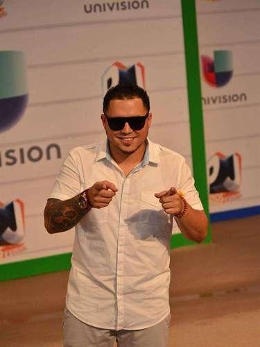Dj Chino se la pasó bomba desde su llegada a los Premios Juventud 2013