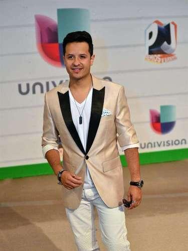 El cantante Fito Blanko sólo iba a disfrutar de las presentaciones y el show de los premios. ¿A quién habrá ido a ver en especial?