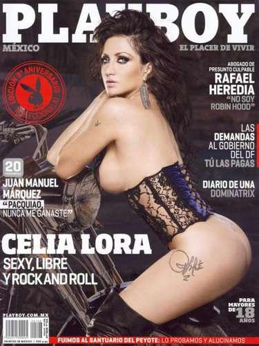 Celia Lora (Octubre de 2011).