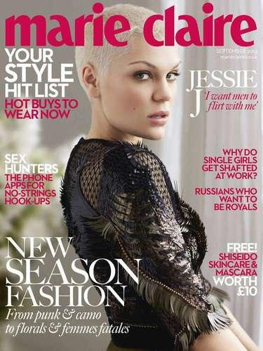 1 de Agosto -La cantante Jessie J sigue cosechando triunfos y en esta ocasión la guapa inglesa compartió en la revista Marie Claire que quiere que los hombres sean coquetos con ella. Cabe destacar que Jessie J se ha declado abiertamente bisexual.