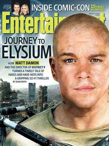 1 de Agosto -Matt Damon se sometió a una dura transformación física para la película 'Elysium'. El actor ganador del Oscar comentó a la revista Entertainment Weekly el proceso por el que pasó para lucir un cuerpo envidiable en su nueva película de ciencia ficción.