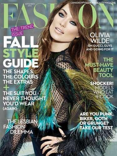 8 de Agosto - ¡Qué ojos! Olivia Wilde simplemente nos deja estáticos al ver su belleza en la portada de la revista Fashion. La actriz se confiesa con la publicación en la que habla de moda, proyectos ysu nuevo amor. ¡Qué envidia nos das Jason Sudeikis!