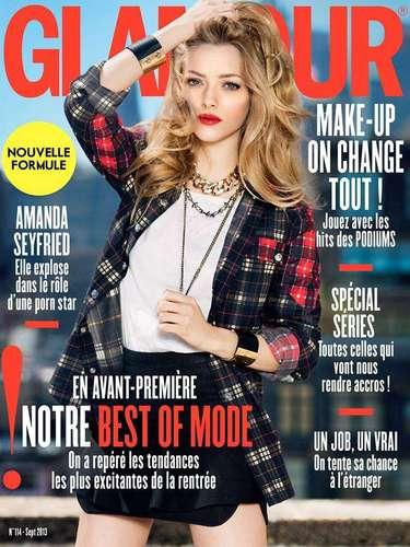 8 de Agosto - Amanda Seyfried cada vez se muestra más sexy y provocativa. La revista Glamour Francia realizó una entrevista a la actriz sobre su nueva película 'Lovelace' donde interpreta a una estrella porno.