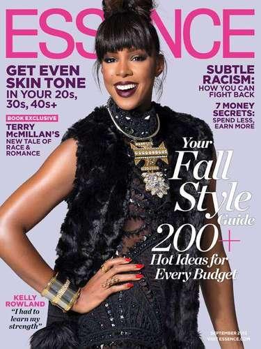 8 de Agosto - La hermosa Kelly Rowland no podía verse más guapa en la portada de Esscence. La nueva jurado de 'The X Factor' comentó acerca de cómo fue empezar desde cero y lograr el éxito tras la desintegración de 'Destiny's Child' y de vivir a la sombra de Beyoncé