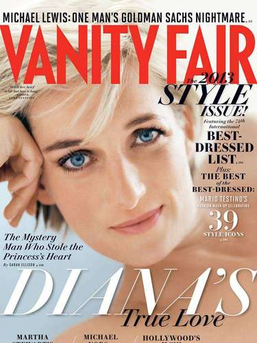 8 de Agosto - La inmortal Princesa Diana es la figura central de Vanity Fair donde se revelan sus más íntimos secretos y sobre todo del hombre que robó el corazón de la difunta 'princesa de corazones'.