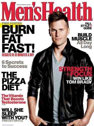 8 de Agosto - ¡Wow, Tom Brady sí que luce súper guapo! El esposo de Gisele Bündchen es de los hombres más sexies del planeta y así lo refleja su nueva portada la revista Men's Health. El futbolista siempre ha tenido más dotes de modelo que de deportista y eso resalta a la vista.