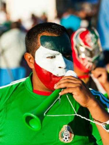 Casi cerca de 20 aficionados se dieron cita en el estadio para ver a México y a Costa de Marfil.