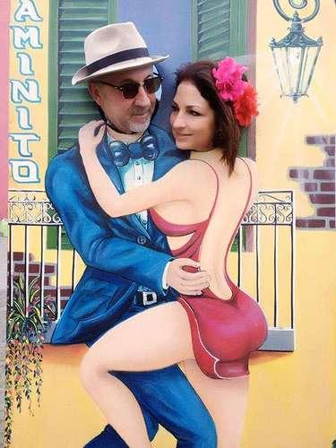 22 de Agosto - Emilio y Gloria Estefan viven enamorados cada día. La pareja de histriones viajaron a Argentina a donde visitaron el turístico 'Caminito' y aprovecharon para posar como dos grandes bailadores de tango.