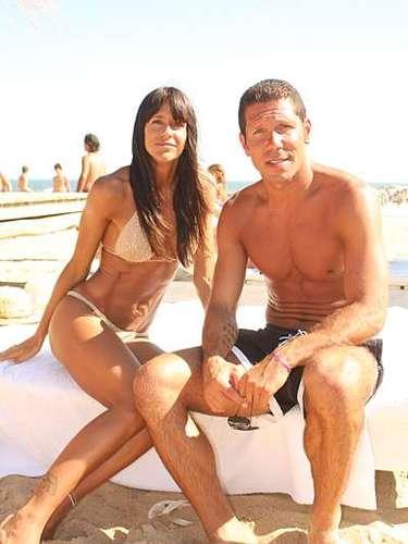 Aunque la pareja se separó por el regreso de Carolina al modelaje, están juntos de nuevo desde 2010, y ella vive en Madrid junto al Cholo.