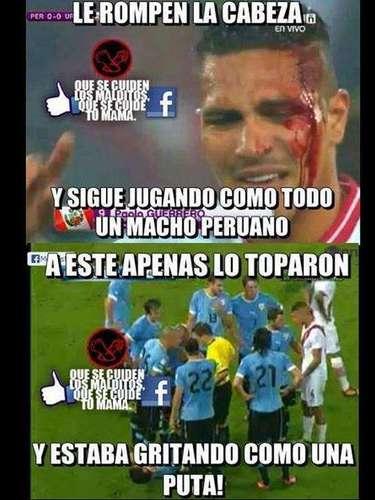 Era de esperarse. Tras el amargo resultado ante Uruguay, cibernautas peruanos dieron rienda suelta a su creatividad y difundieron divertidos \