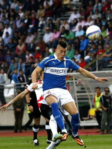 El partido de ida por los octavos de final terminó igualado 1-1. Abrió la cuenta para el local Diego Churín, mientras que la paridad cruzada la puso Nicolás Castillo.