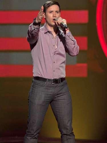 Israel Zarzosa interpretó 'Dueño de Nada', y gracias a ello se pudo ir al equipo de David Bisbal.