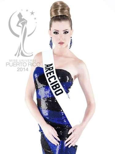 Miss Arecibo - Suzette Eunice Rivera Sanes. Tiene 23 años de edad, mide 1.75 metros de estatura (5 ft 9 in) y procede de Arecibo.