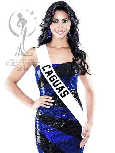 Miss Caguas - Krystal Marie De Jesús Nogueras.  Tiene 18 años de edad, mide 1.73 metros de estatura (5 ft 8 in) y procede de San Juan.