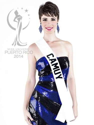 Miss Camuy - María Isabel Vélez González.  Tiene 21 años de edad, mide 1.68 metros de estatura (5 ft 6 in) y procede de Ponce.